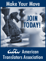 Join the American Translators Association