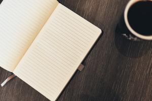 notebook+mug