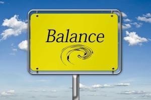 Balance sign
