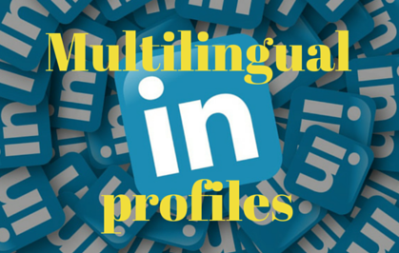 Multilingual profiles on LinkedIn