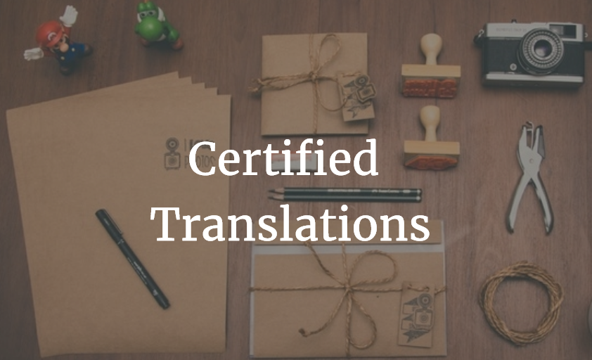 Certified Translation The Savvy Newcomer
